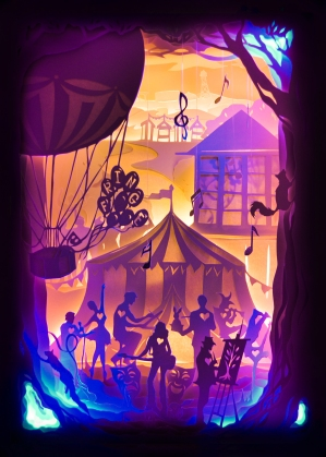 Bournemouth Fringe Festival Illustration